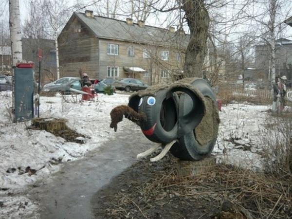 Жутковатый ЖКХ-арт