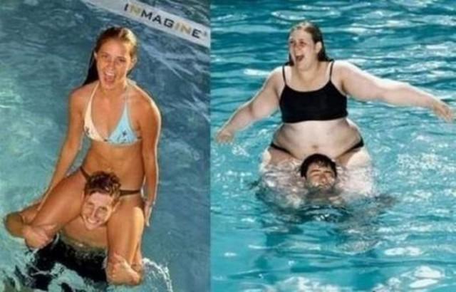 Толстые против худых