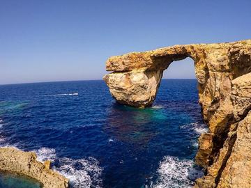 На Мальте обрушилось Лазурное окно, входившее в число объектов всемирного наследия UNESCO