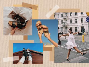 Як стилізувати сандалі Біркеншток в повсякденних образах