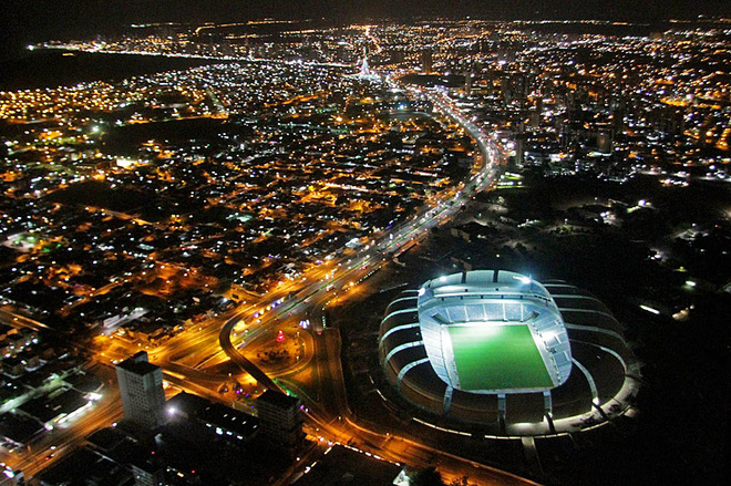 Чемпионат мира по футболу: стадионы