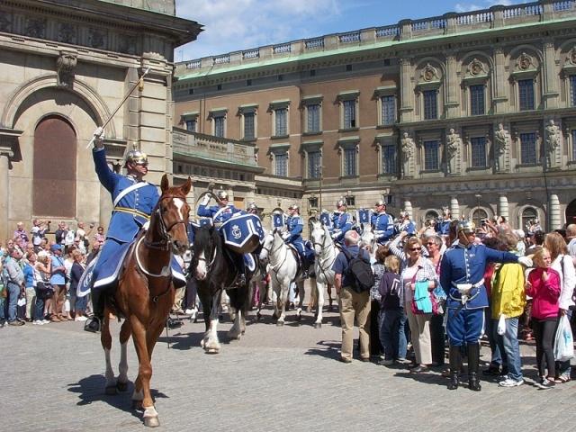 Смена караула у Королевского дворца