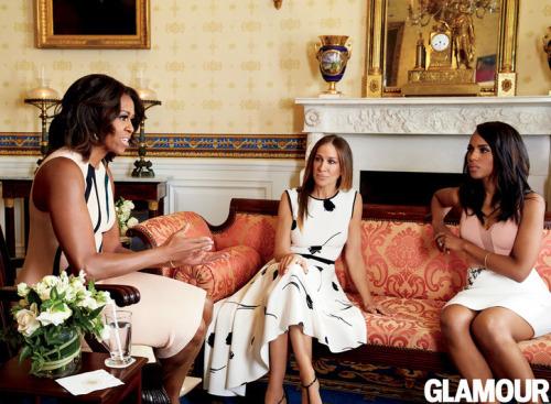 Мишель Обама, Сара Джессика Паркер и Керри Вашингтон