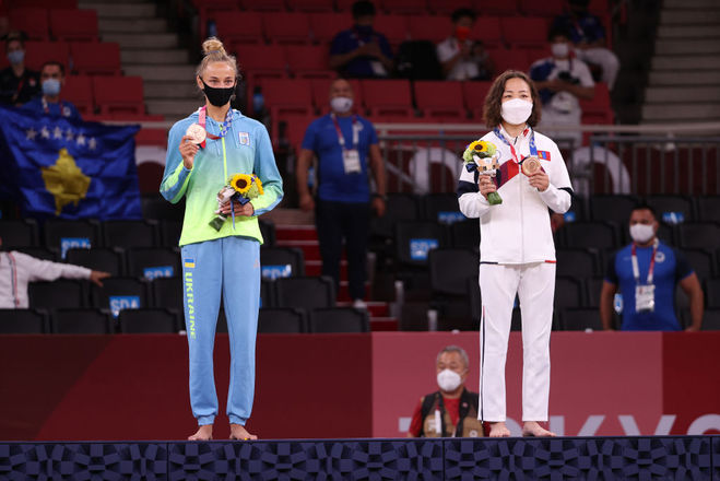 Дар'я Білодід, Олімпіада 2020