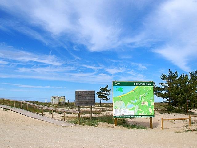 Найкращі пляжі Балтійського моря: пляж Нива, Естонія