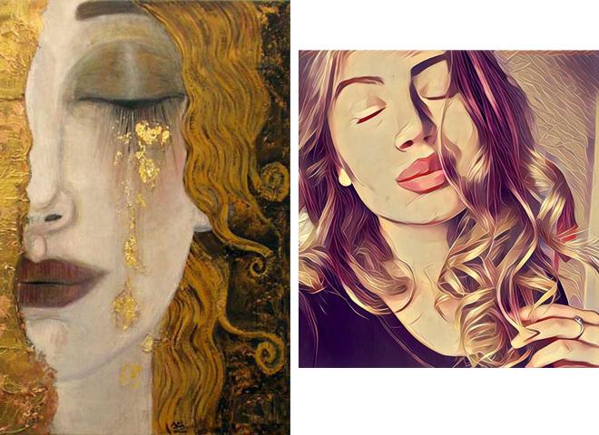 Prisma VS великі художники