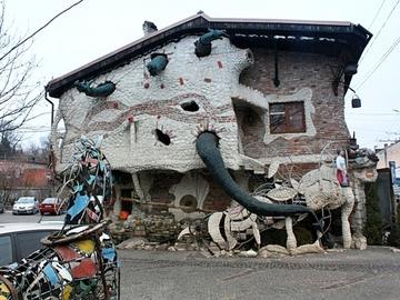 Незвичайні будови України: ресторан «Старий млин», Тернопіль
