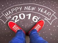Прикольные обои на Новый год 2016