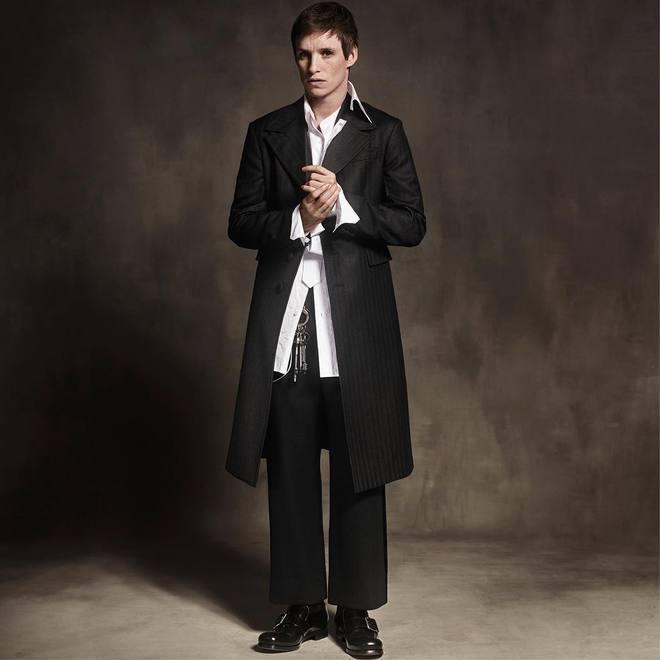 Эдди Редмэйн в рекламной кампании Prada