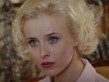 """Анна Сагайдачна на зйомках серіалу """"Червона королева"""""""