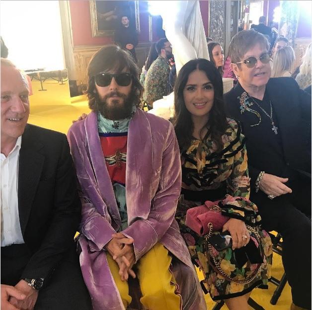 Знаменитості на круїзному показі Gucci 2018