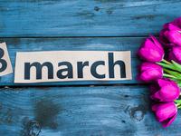 Красивые обои на 8 марта