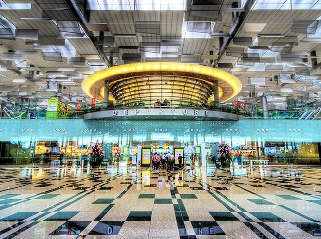 Аэропорт Чанги в Сингапуре признан лучшим в мире