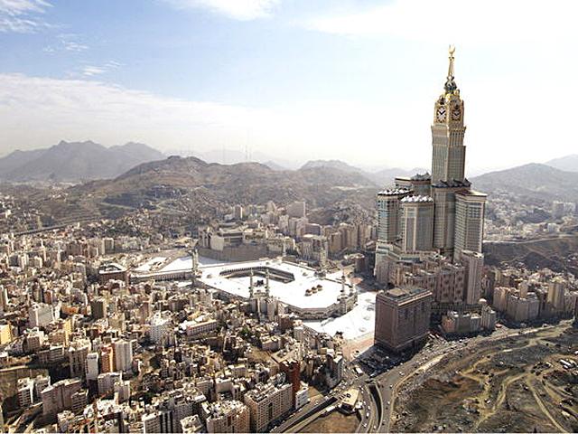 Топ 5 небоскребов: Башни Абрадж аль-Баит