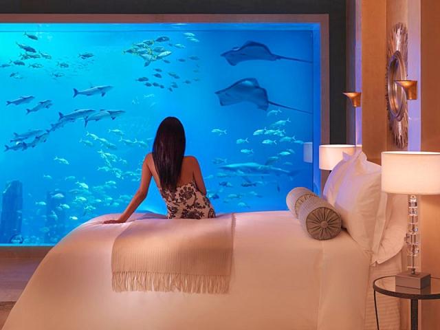 Необычные номера в отелях: Poseidon Suite, Atlantis The Palm Hotel, ОАЕ