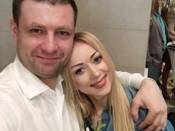 Наталья Валевская с мужем