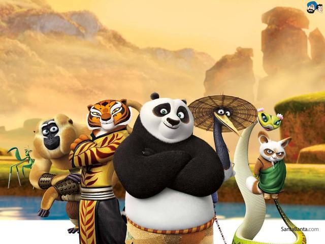 Панда кунфу секс фото 720-977
