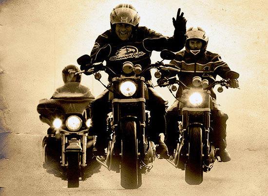 С Днём мотоциклиста!