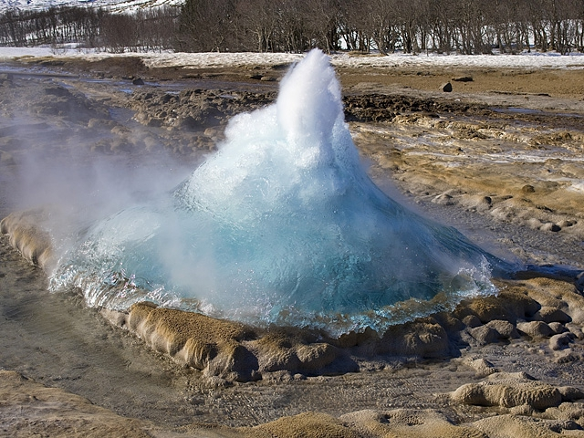 Гейзеры Исландии: Строккюр