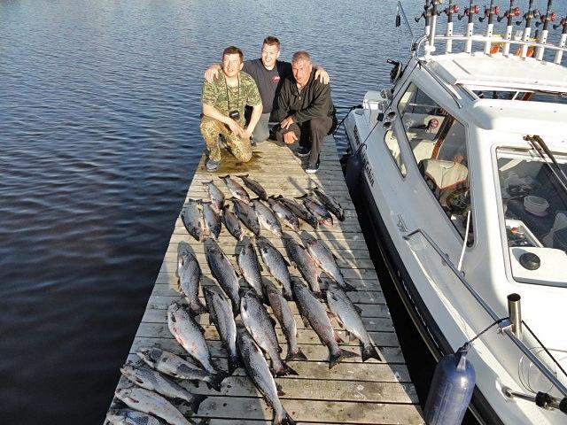 Трофейна рибалка: Онезьке озеро