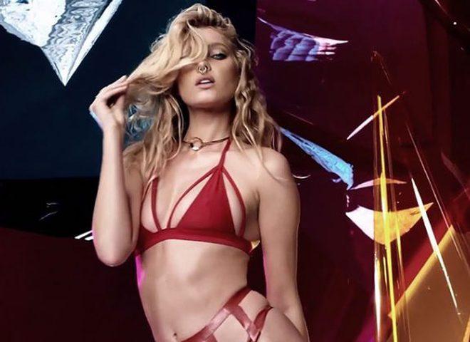 """""""Ангел"""" Victoria's Secret  в сексуальной съемке для Love"""