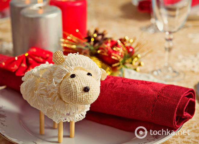 Новогодний стол в год Овцы, рецепты