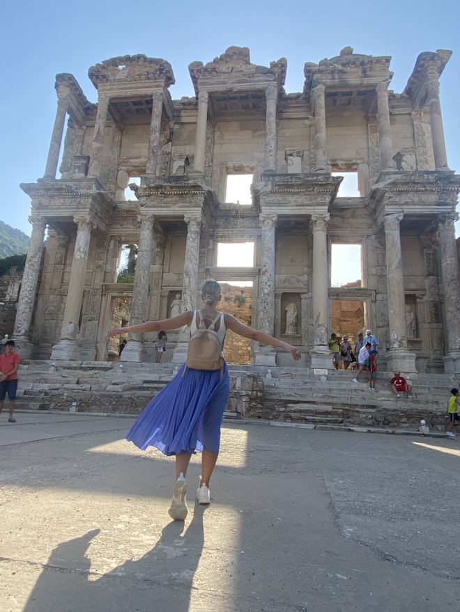 Маша Виноградова в Турции