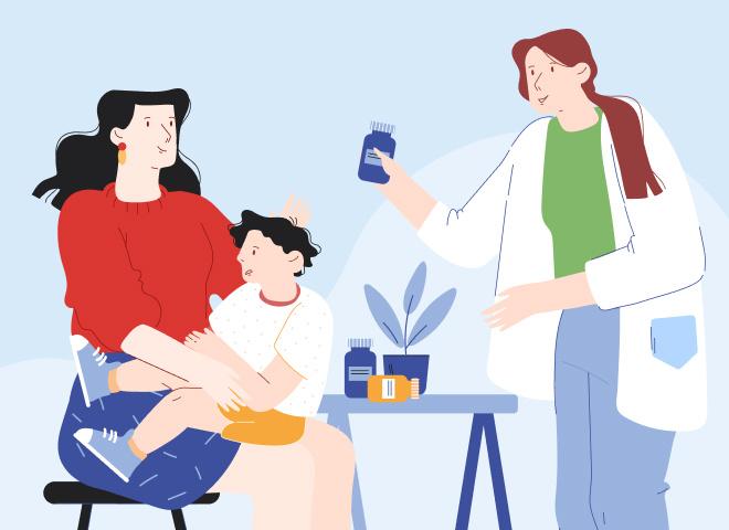 Що робити, коли захворіла дитина?