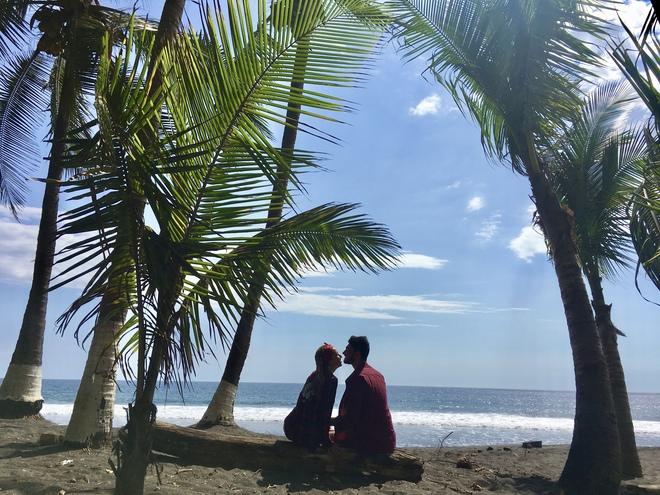 Оля Манько и Макс Узол на Коста-Рике