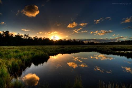 Потрясающие фото закатов