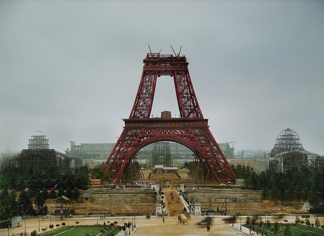 10 цветных фотографий известнейших достопримечательностей во время реконструкции или возведения