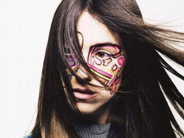 Эпатажный макияж от главного визажиста Christian Dior
