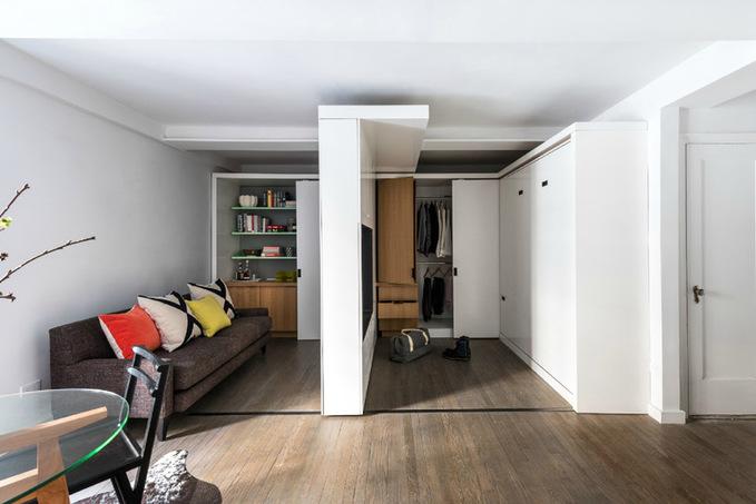 Уют и простор в маленькой квартире