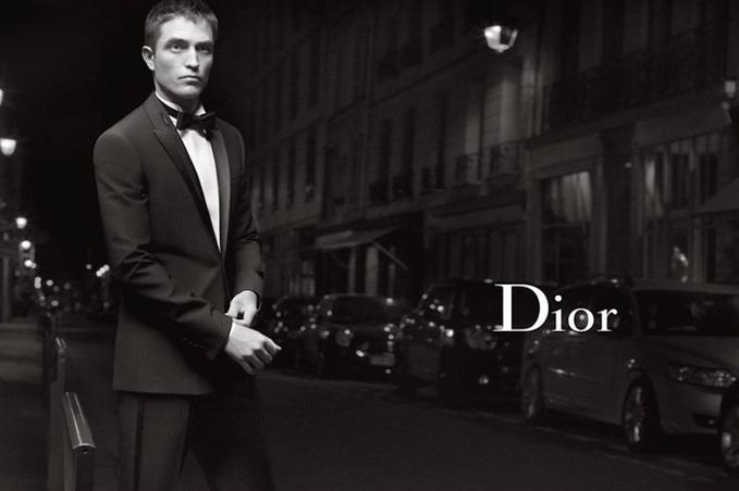 Роберт Паттінсон знявся в новій рекламній кампанії Dior