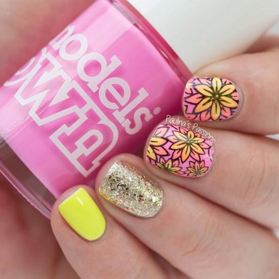 модный маникюр 2016 на короткие ногти