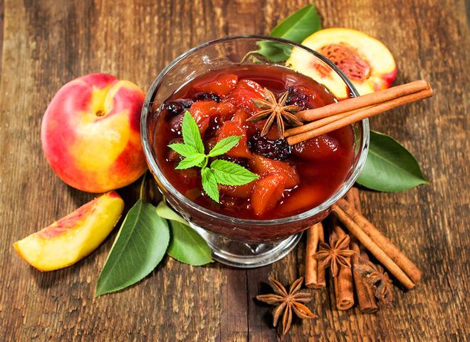 Персикове варення