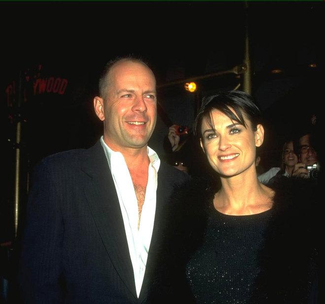 Брюс Вілліс і Демі Мур, 1998 р.