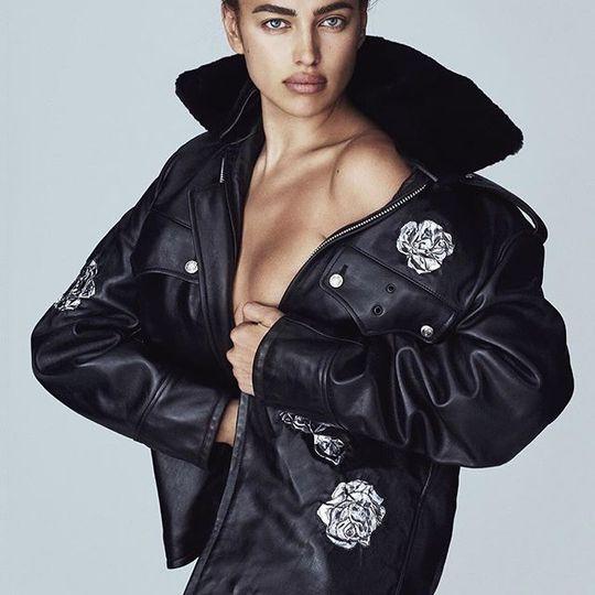 Ирина Шейк для испанской версии журнала Vogue
