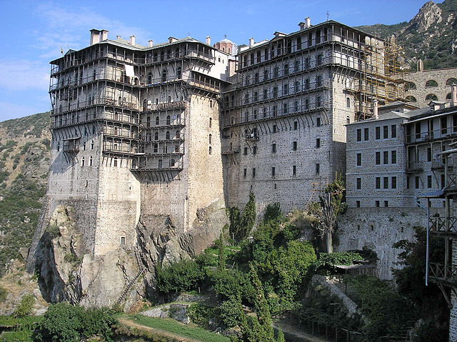 Достопримечательности Греции: Монастырь святого Петра, Афон