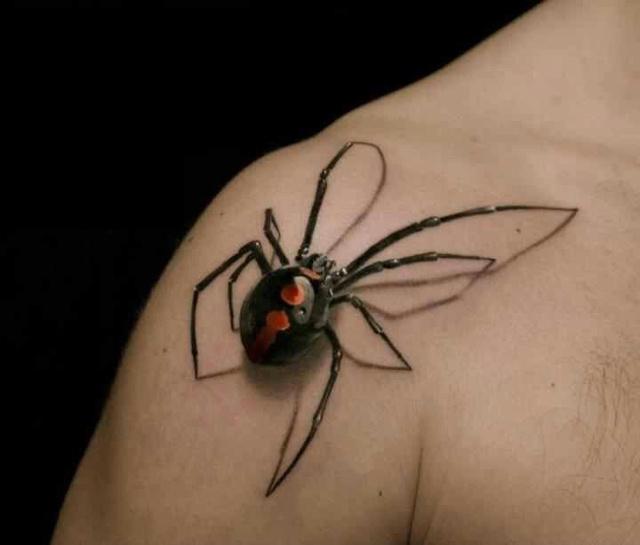 Невероятные 3D татуировки