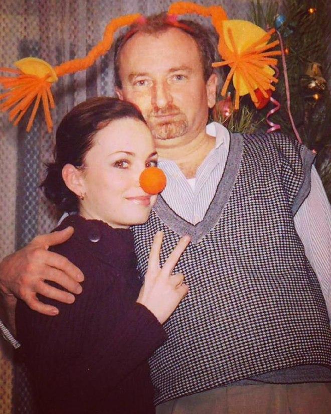 Вікторія Булітко з батьком