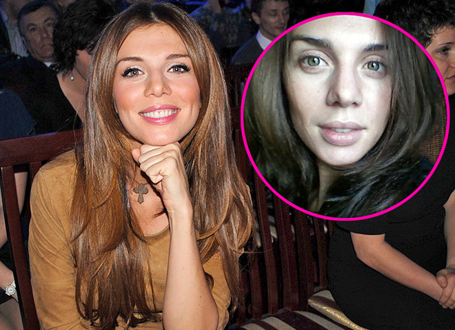 Анна Седокова показала своє обличчя без макіяжу