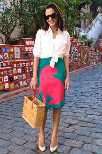 Спідниця-олівець: як і з чим носити (фото)
