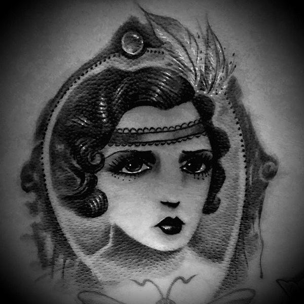 Оригинальный татуировки для любителей моды