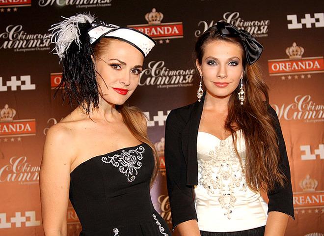 Ольга Сумская і Тоня Паперна
