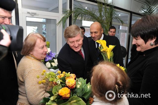 Ринат Ахметов и Игорь Крутой в Кировограде