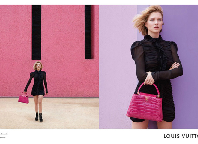 Леа Сейду для Louis Vuitton