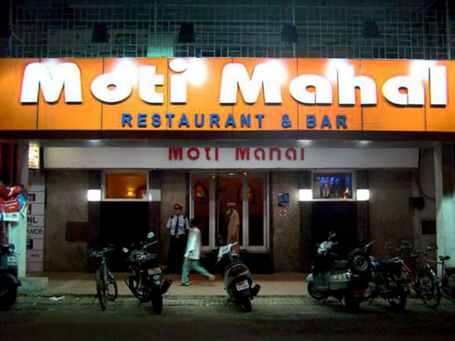 Достопримечательности Дели: ресторан Moti Mahal