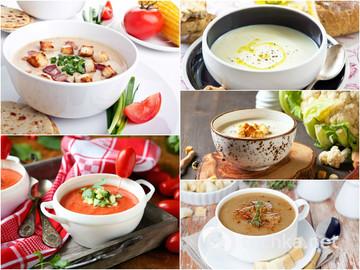 Топ-5 найсмачніших крем-супів