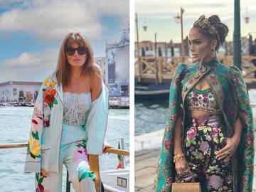 Гости показа Dolce & Gabbana Alta Moda